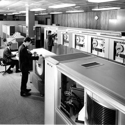English Electric KDF9 at the EELM Bureau in Kidsgrove