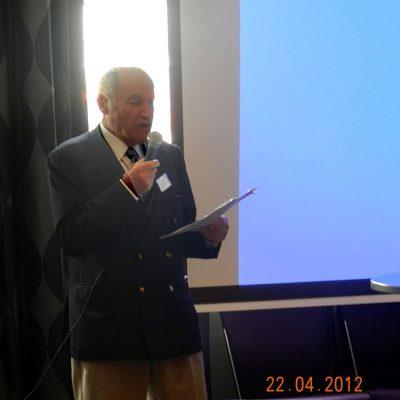 Emeritus Professor Frank Land