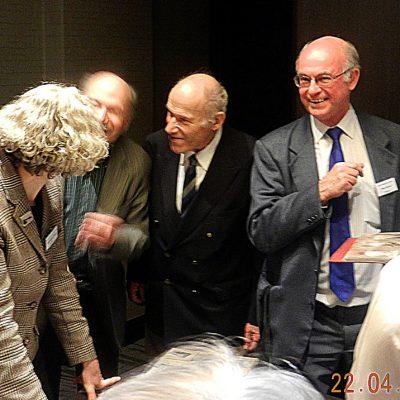 Georgina Ferry, Ralph Land, Frank Land, Peter Nyford