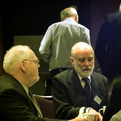 John Hume and Elwyn Rees