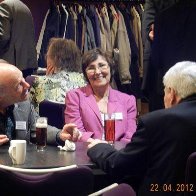 Frank Land, Barbara Dodgson and Doug Comish