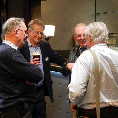 John Hall, Dave Tipping, Tony Morgan and Michael Mills