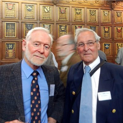 Alan Hooker (jnr) and Alan Hooker (snr)