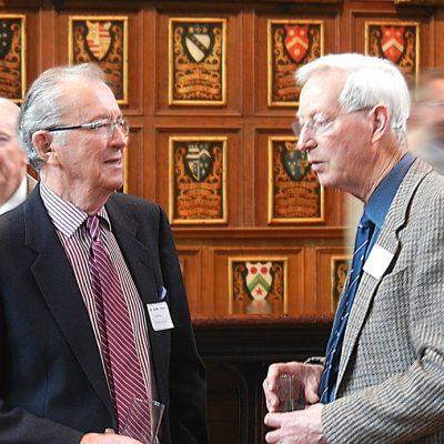Geoff Pye and Don Robertson