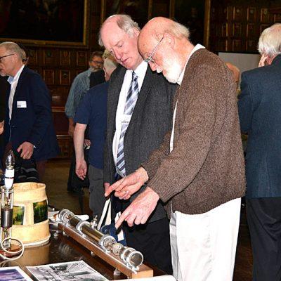Philip ? and John Daines Examining a delay Line