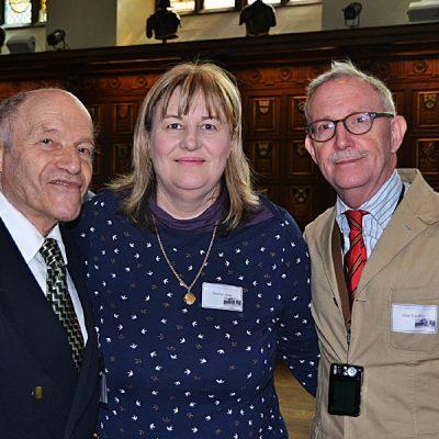 Frank  Land, Denise Ashe and Alan Eardley