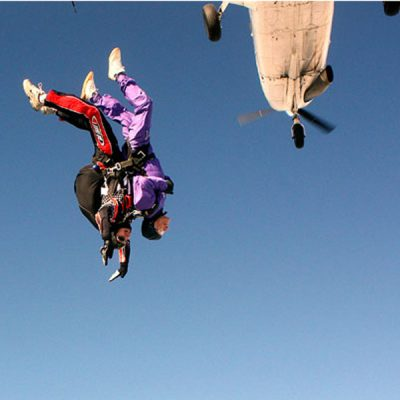 The Sky Diving Land Brothers (More in News and Reports)